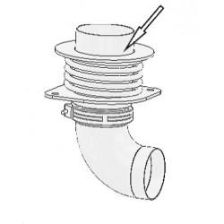 Соединитель выхлопного газа - верхняя часть