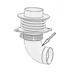 Abgasanschluss - Unterteil