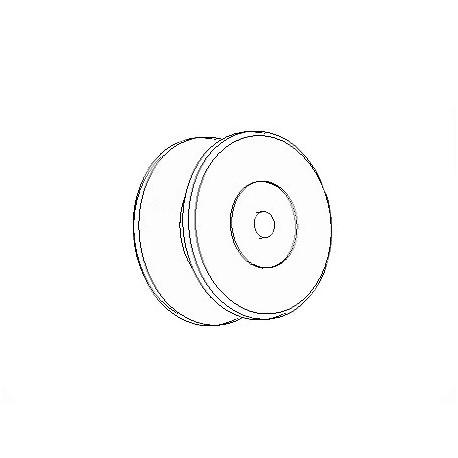 Crane roll, spare wheel