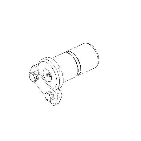 Tailgate hinge bolt