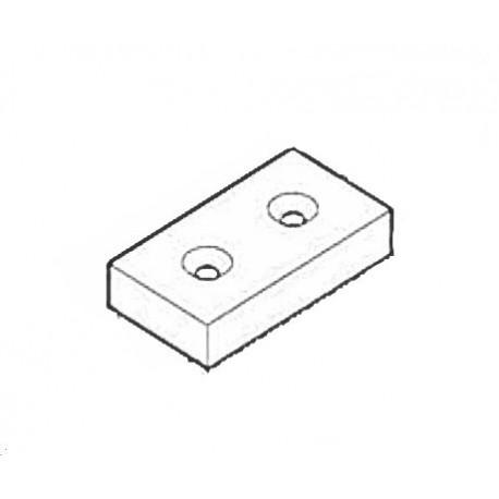 Bump rail rubber