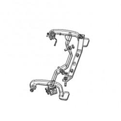 Limit valve lever