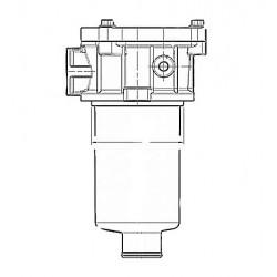 Oil return filter - set